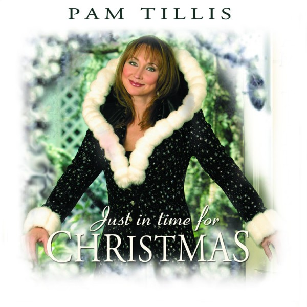 Pam Tillis Just In Time For Christmas Album Cover